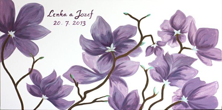 Magnolia wedding tree/Magnolie - svatební strom