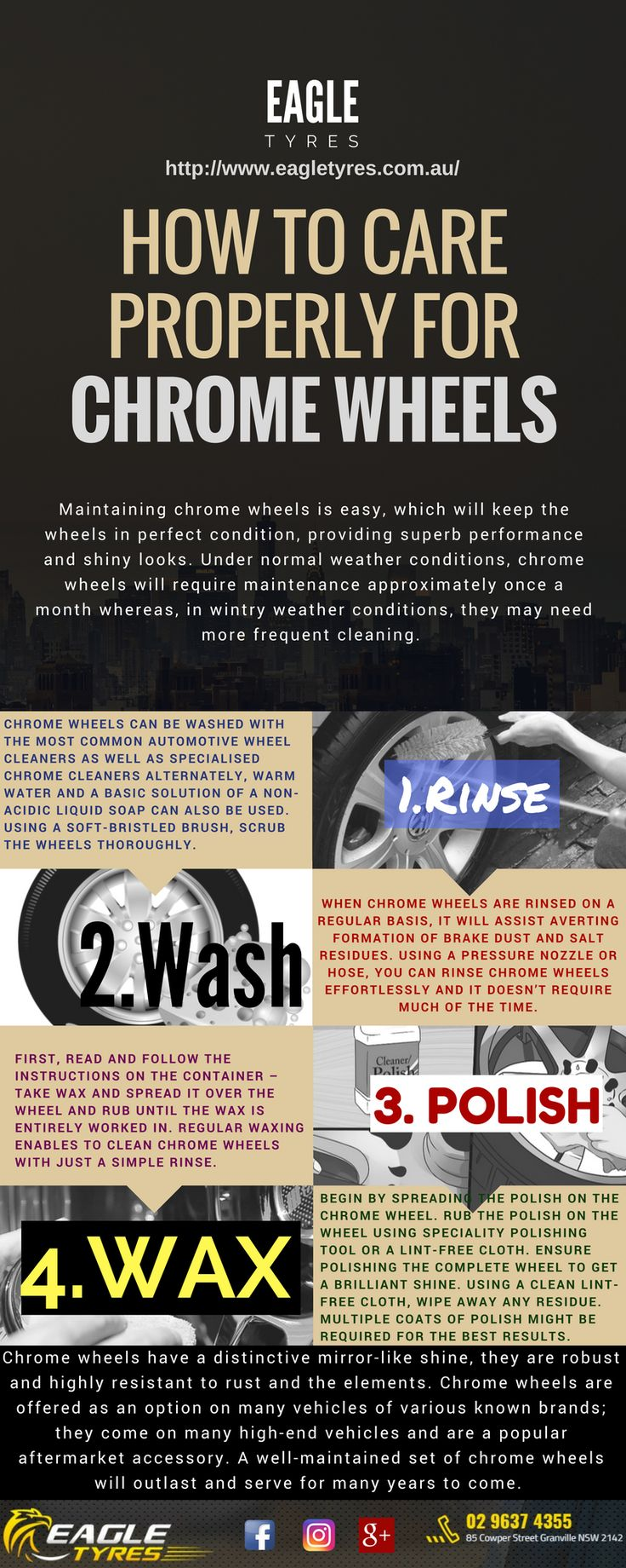 #infographic #wheelssydney #chromewheels #wheelshop #wheelshopsydney #buywheels #car #care #maintenance