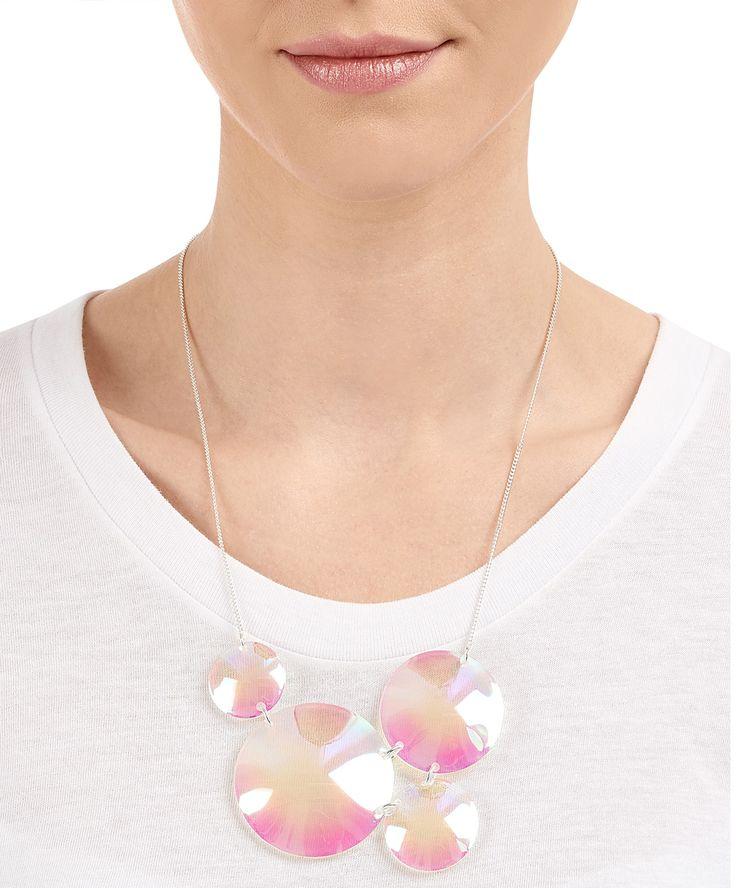 Iridescent Bubbles Necklace