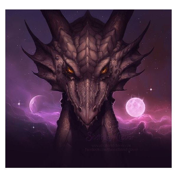 2013 Dragon Zodiac Cover Art by The-SixthLeafClover ❤ liked on Polyvore featuring home, home decor, astrology signs, dragon home decor and zodiac signs