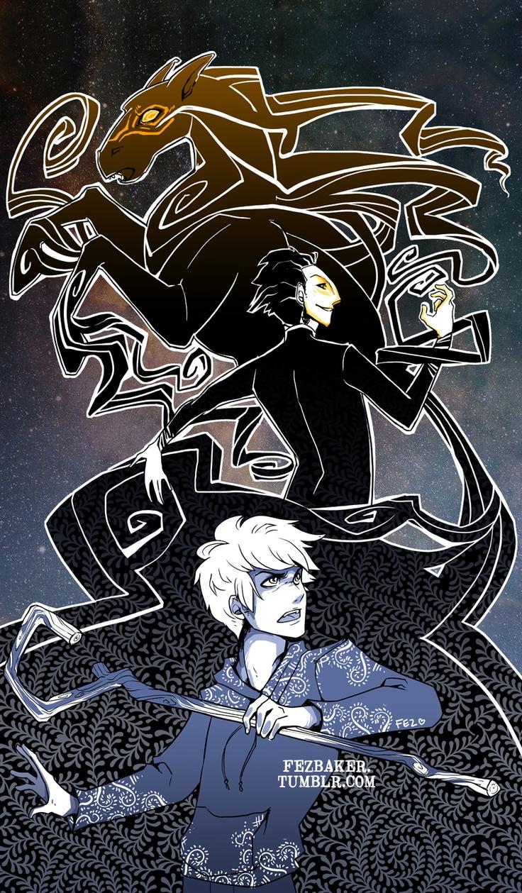 Night light x jack frost - Pitch Black And Jack Frost By Fezbaker Deviantart Com On Deviantart