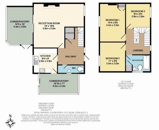 2 story Floor Plans.