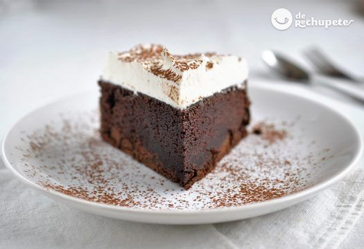 Tarta de chocolate Guinness