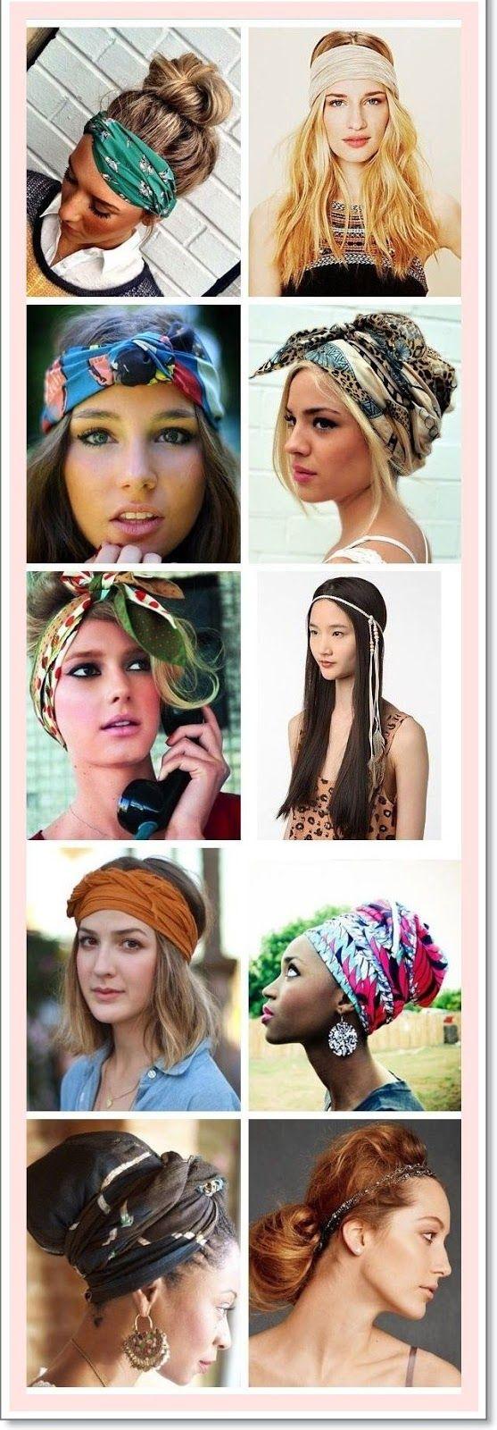 Invente moda no cabelo
