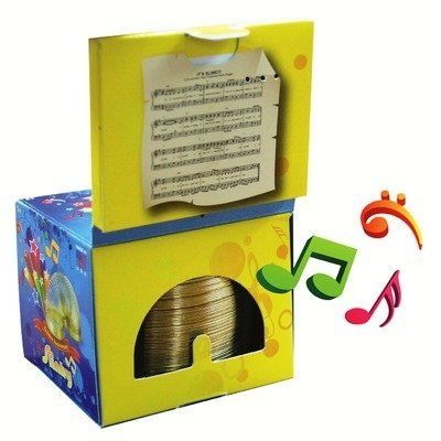 Slinky Musical Song Box by POOF-Slinky, Inc. $13.99. 8-107 Features: -Age range: 5+.-Made in USA.