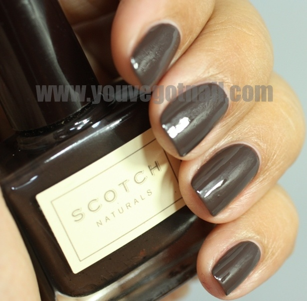 Chocolate polish / ScotchMakeup