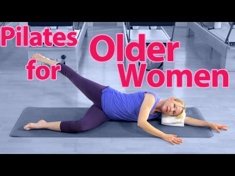 Pilates for Older Women - YouTube