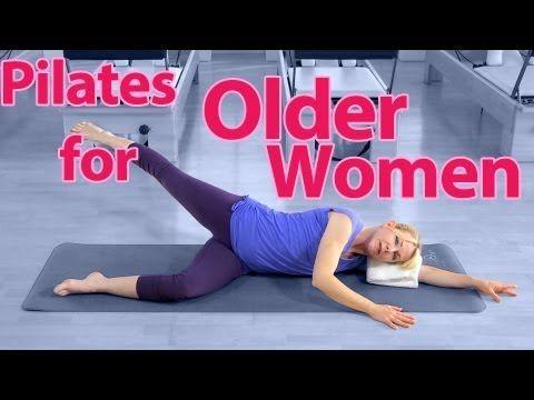 ▶ Pilates for Older Women - YouTube  www.oursunnyvilla.com