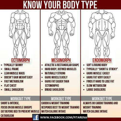 Very Helpful to know your body type