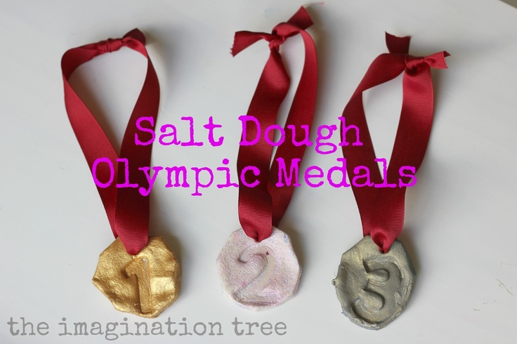 Salt Dough Olympic Medals The Imagination Tree
