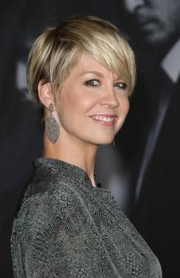 Short crops are hot but short crops with side bangs are even hotter. Keep your style soft and feminine and sport it with a long sweeping bang. It can be