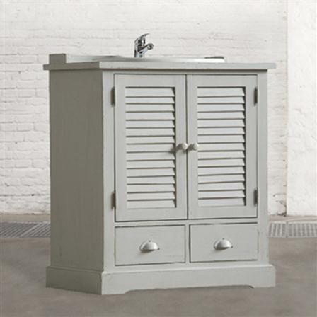 Bathroom Sink, Grey