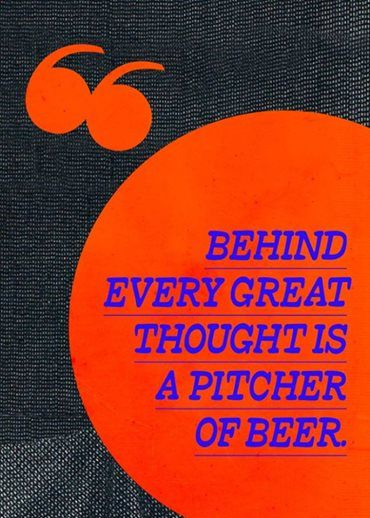 Beat Monday morning blues with a thought for the day. Happy Monday. Catch more details on www.thebeercafe.com