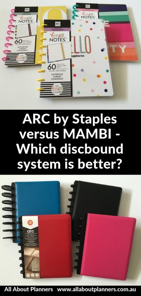 graphic regarding Printable Stickers Staples referred to as ARC through Staples in opposition to MAMBI - Which discbound procedure is