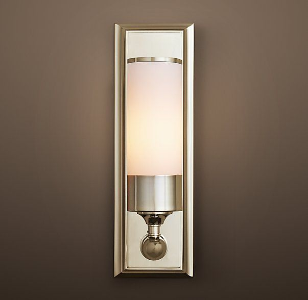 Keller sconce restoration hardware lighting pinterest restoration hardware restoration Restoration bathroom lighting