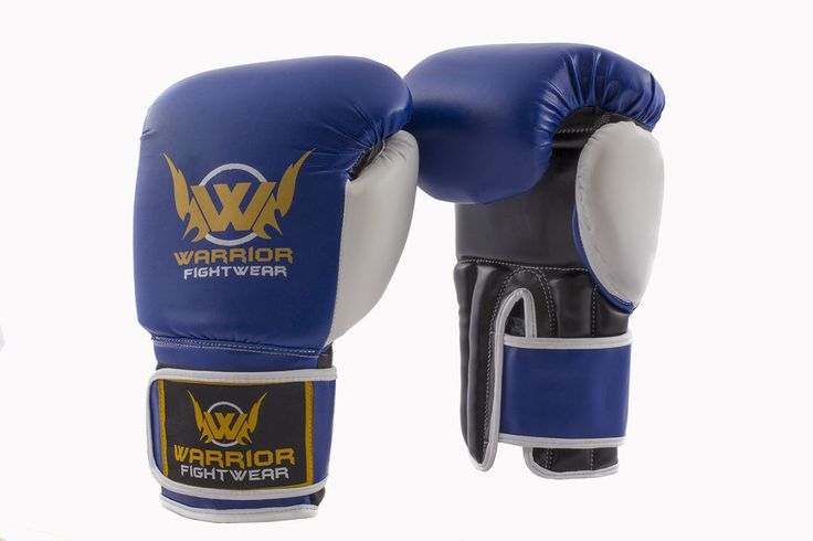 The Warrior Storm Boxing Gloves Blue/White PU are the ideal gloves to wear while Boxing,Kickboxing or during other martial arts training, sparring or competition fights. Muay Thai Kick Pads. Boxing Gloves. | eBay!
