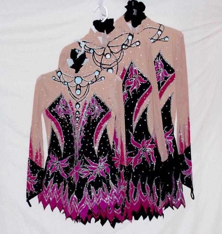 Love these leotards we did for a Glasgow City Trio