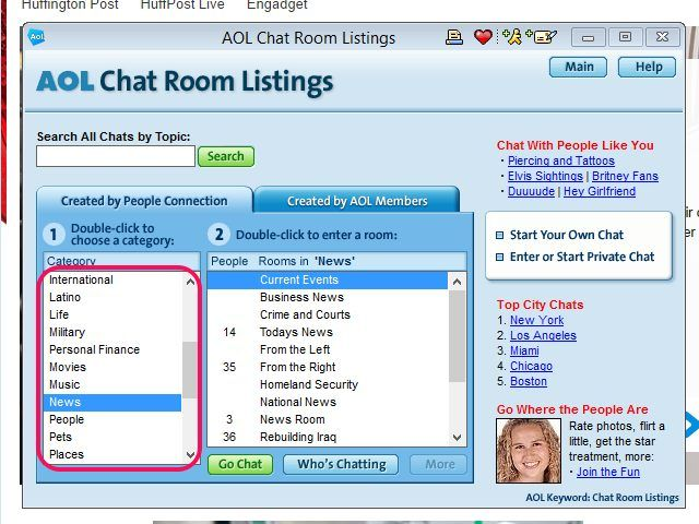 chat room no register