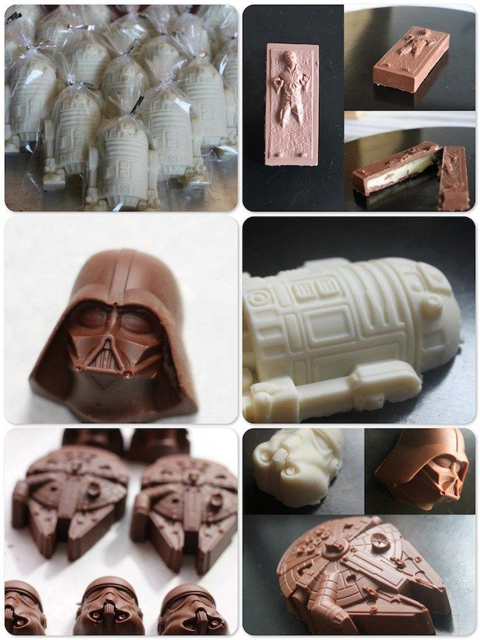 Ovos de páscoa nerd - Star Wars