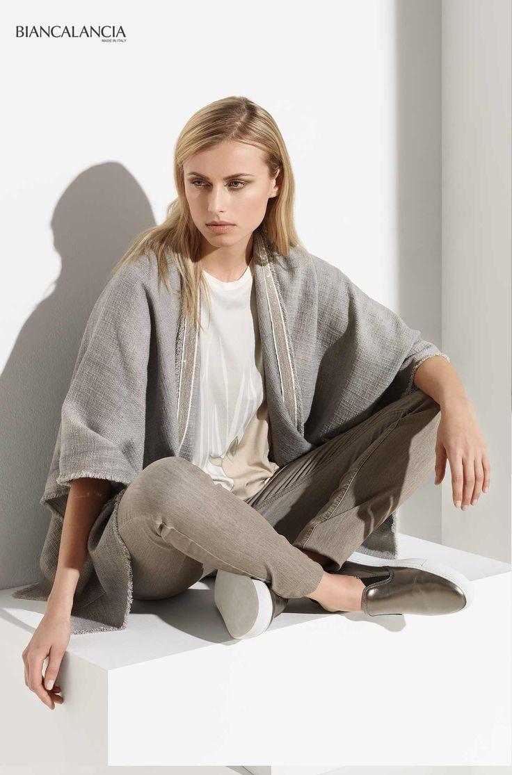 Grey is always okay!  #biancalancia #madeinitaly