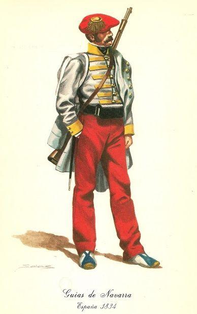 Spanish Carlist War Guias de Navarra 1834
