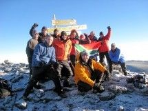 Things to do in Gauteng - Mountaineering: Adventure Dynamics International. Join us on Africa's highest mountain for 6 or 7 days with 5-star service. Climbing Kilimanjaro is an adventure – a group of people achieving a common goal and dream, pushing mind and body to new limits.
