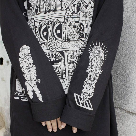 Spook House Long Sleeve Tshirt small only