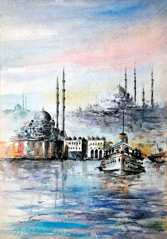 İstanbul Tabloları İST 005