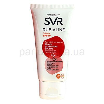 SVR Rubialine захисний крем для чутливої шкіри, схильної до почервоніння SPF 50