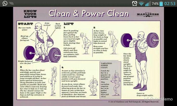 Clean & power clean