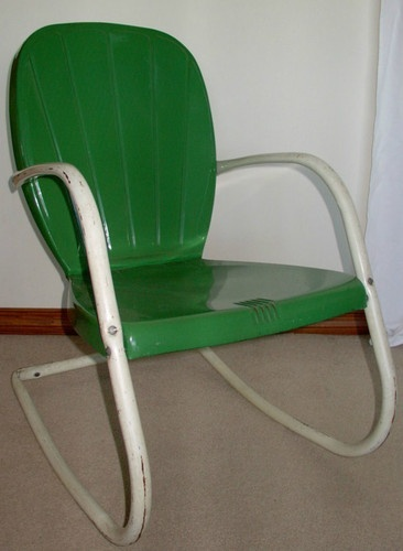 195039s arvin metal outdoor patio chair ebay crafts for 1950s metal patio chairs