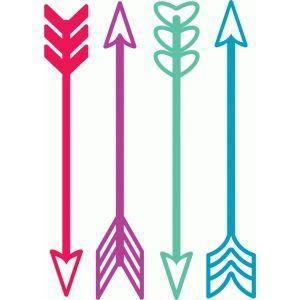 Silhouette Design Store - View Design #53730: arrows