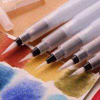 3 pz sakura acqua pennello acquerello arte vernice spazzola di nylon dei capelli pittura pennello stesso inumidendo calligrafia penna spedizione gratuita