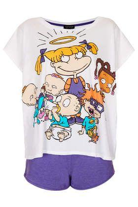Rugrats Pyjama Tee And Shorts, £20 - Topshop. WANT!