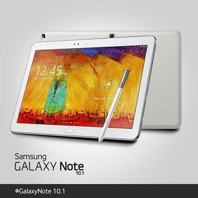 La #GalaxyNote 10.1 (Edition 2014) reprend le design premium du #GalaxyNote3… Mais dans un format tablette ! Ah, c'est beau, la technologie !
