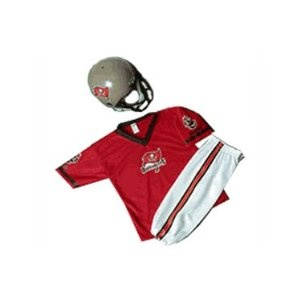 Tampa Bay Buccaneers Youth NFL Team Helmet and Uniform Set --- http://www.pinterest.com.mnn.co/3s