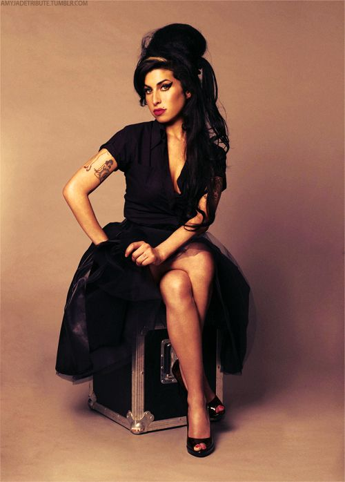 Amy Winehouse- One of my favorites...always in rotation. Gone too soon