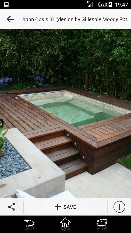 Zwembad ingebouwd