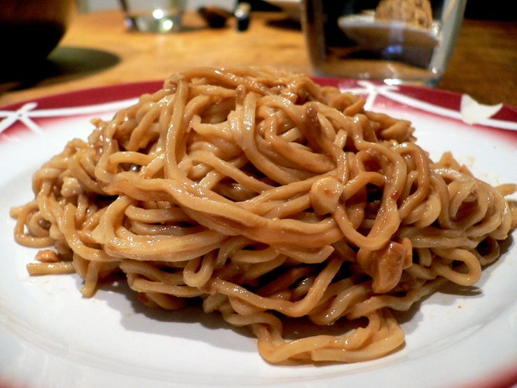 Wednesday Chef - Takeout-Style Sesame Noodles