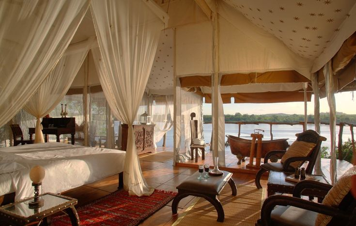 The Luxury Retreat - Northern Selous, Tanzania: Favorite Places, Amazing Rooms, Outdoor Retreat, Eating House, Eating Places, Northern Selous, Master Bedrooms, Eateri, Mothers Natural
