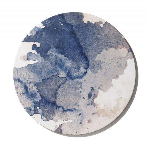 Circular Canvas Blue