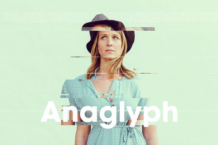 Anaglyph / Glitch Photo FX by devotchkah on Envato Elements