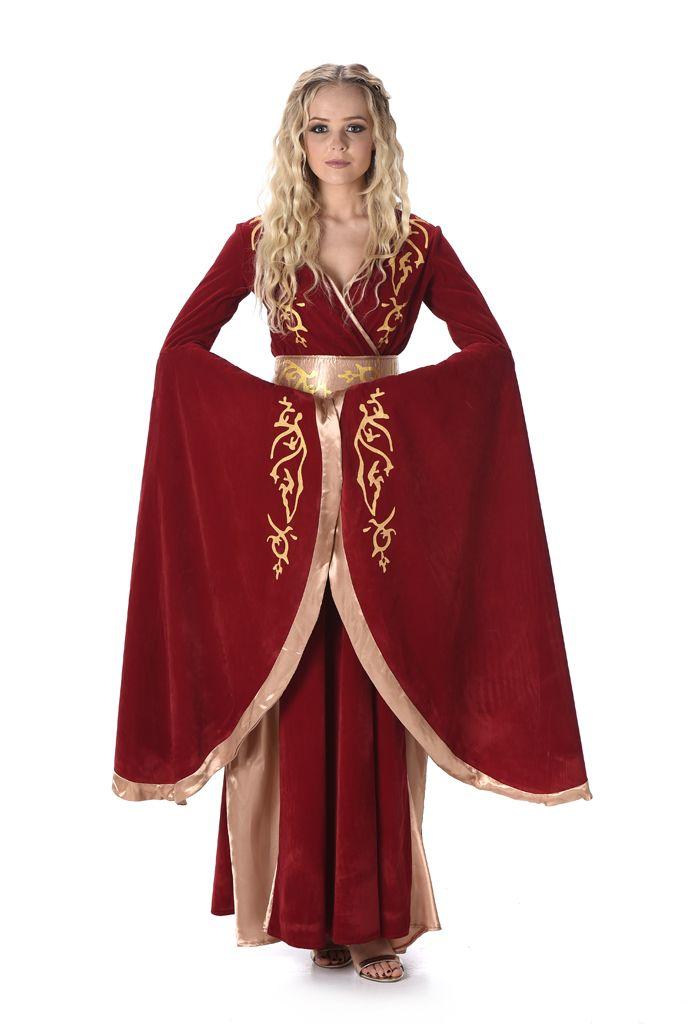Fantasy Koningin Lady Cersi Kostuum