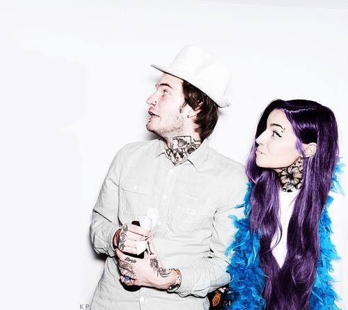 Pewdiepie & CutiepieMarzia punk themed
