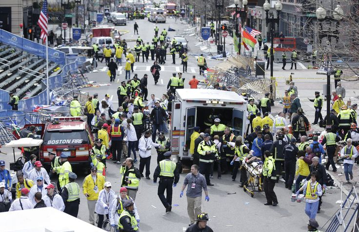 Photos of the Boston Marathon Bombing-please pray for the people of Boston and the USA.