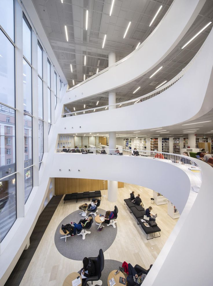 University Of Helsinki Library, Helsinki, Finlandia