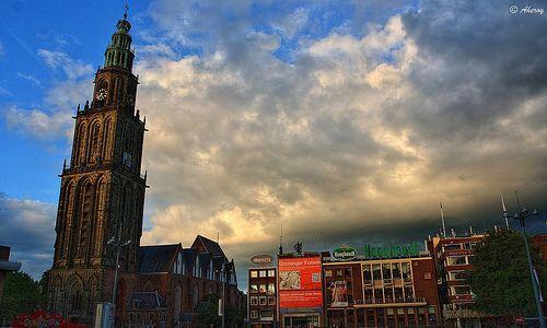 Donkere Wolken over de Oostwand,Groningen stad,the Netherlands,Europe | Flickr - Photo Sharing!