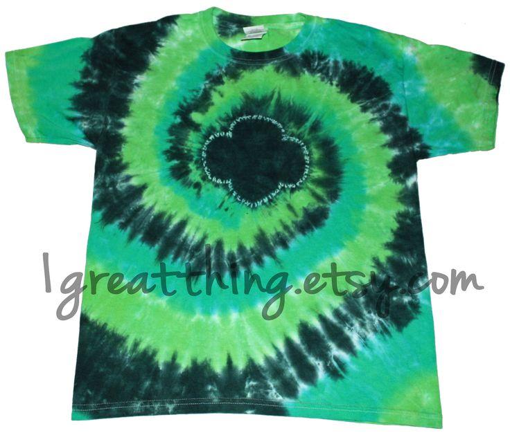 #Trefoil tie dye t-shirt