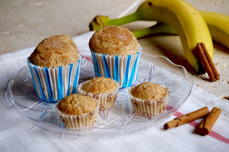 Muffin alle Banane e Cannella