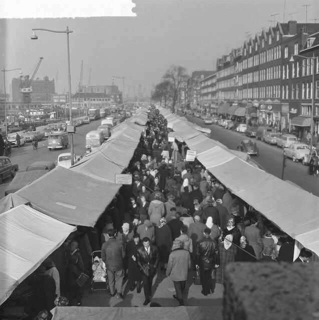 Markt maashaven.